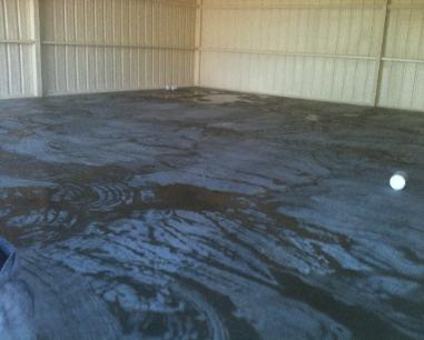 Epoxy Dallas Fort Worth Industrial Garage Seamless Epoxy