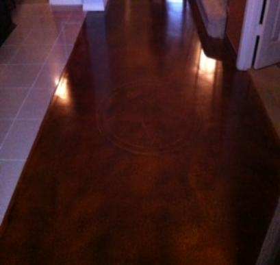 Dallas Fort Worth Texas Stained Concrete Staining