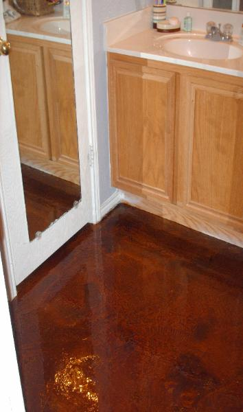 About Stained Concrete Overlay Dallas Fort Worth Concrete