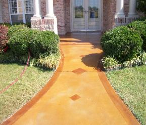 Dallas Fort Worth Tx Concrete Staining Sale Make Ugly