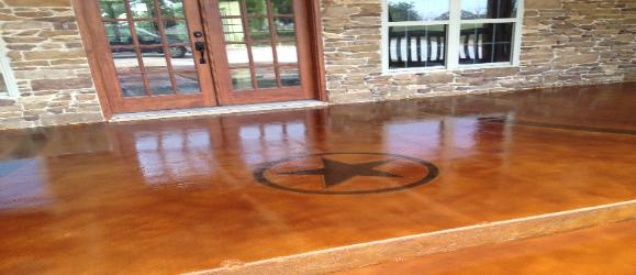 Texas Stained Concrete Dallas Fort Worth Acid Stained Sale