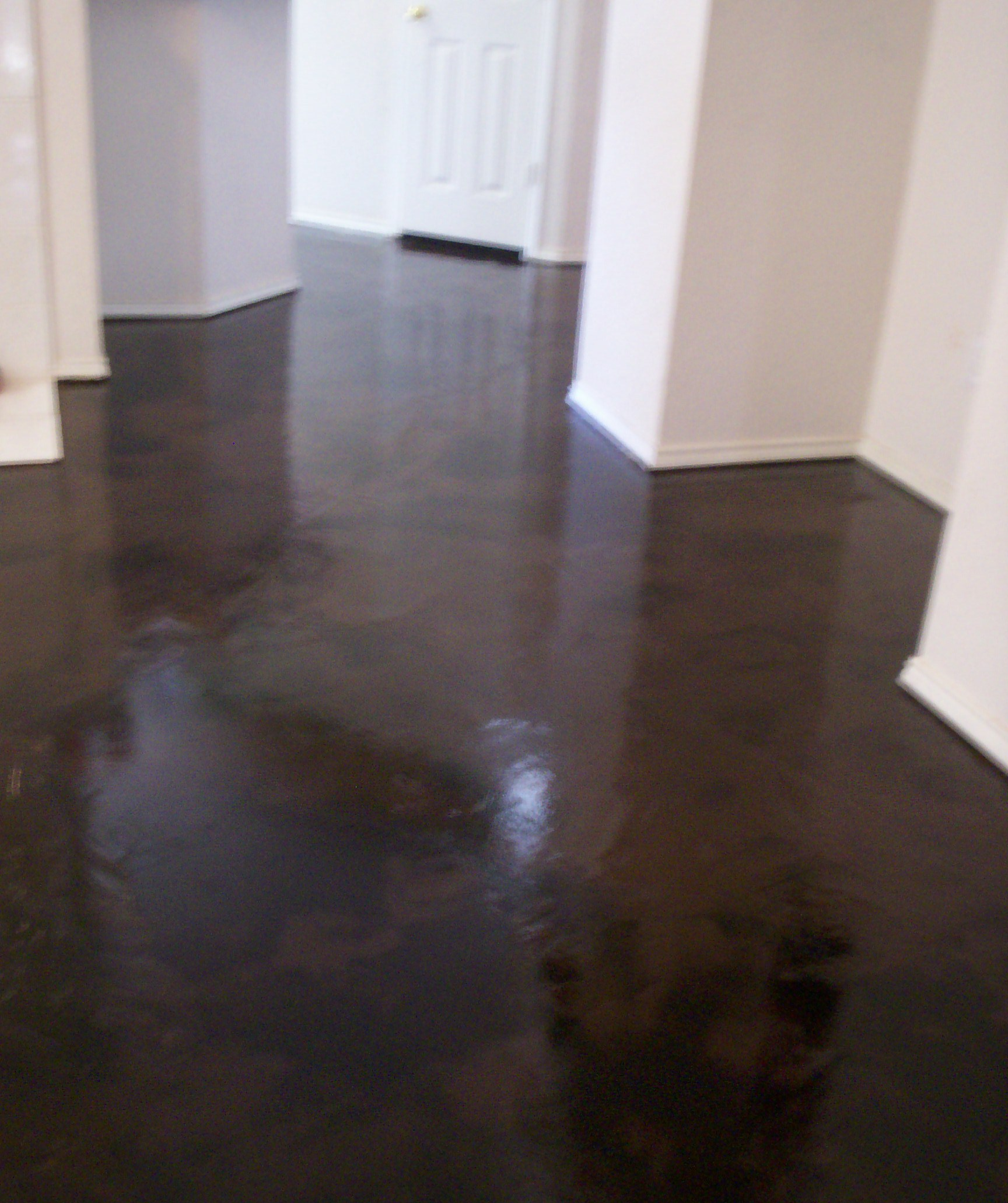 make ugly beautifull concrete stain epoxy floors On black stains on concrete