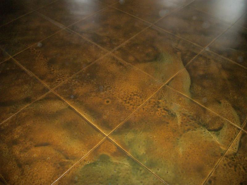Make ((UGLY)) Beautifull concrete stain, Epoxy floors, countertops ...