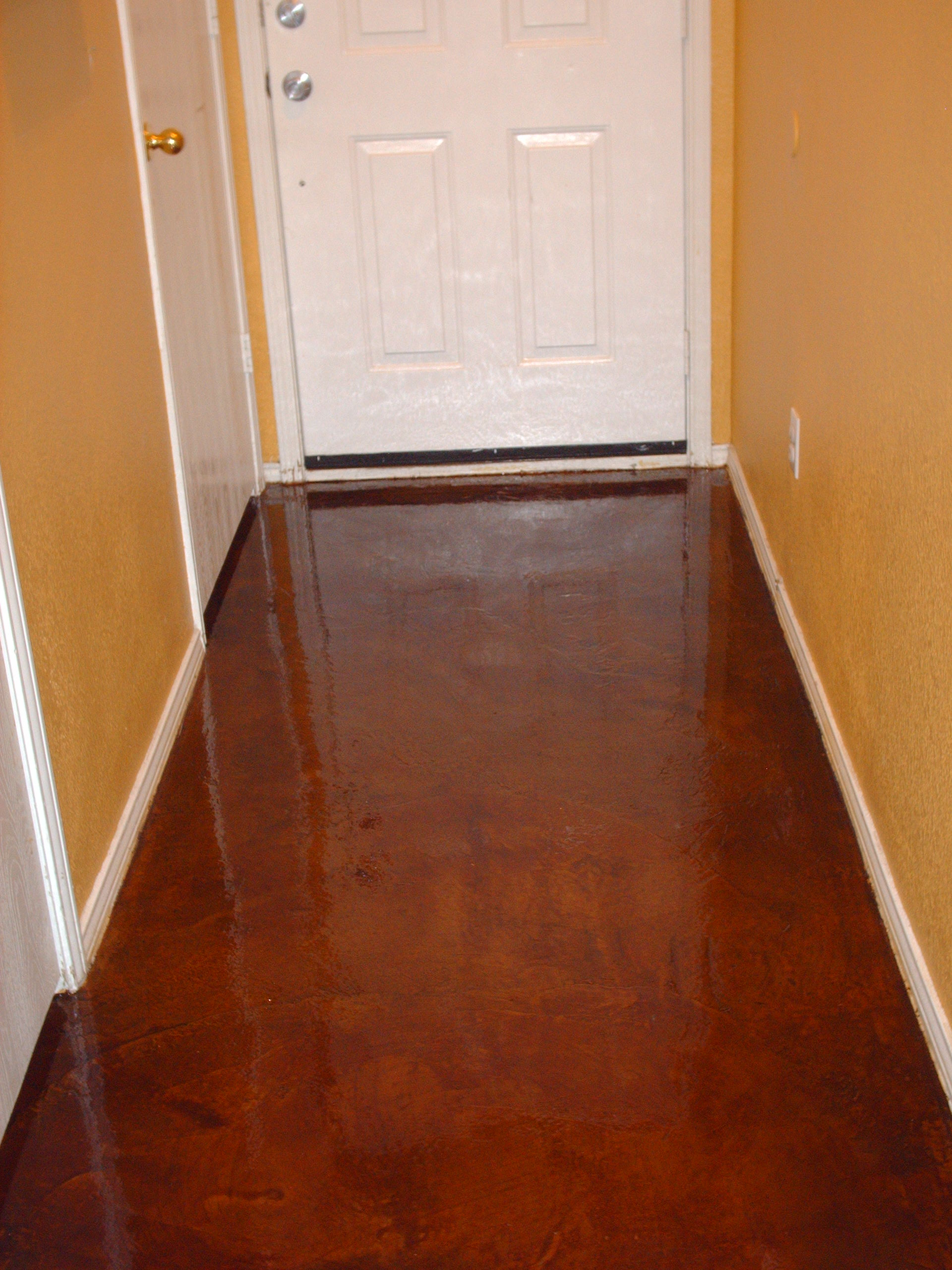 Make Ugly Beautifull Concrete Stain Epoxy Floors