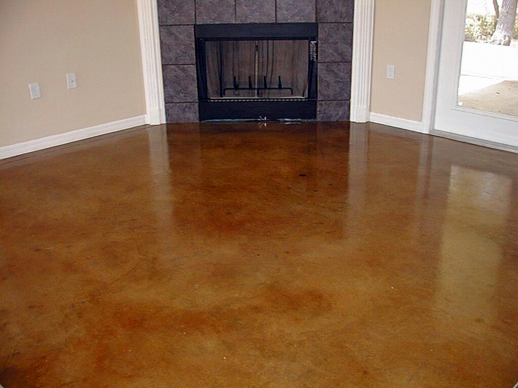 Make ugly beautifull concrete stain epoxy floors for Floor designs