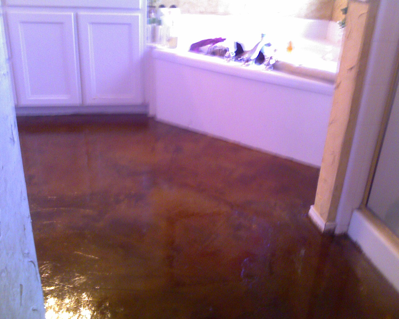 Texas Concrete Stain Specialist
