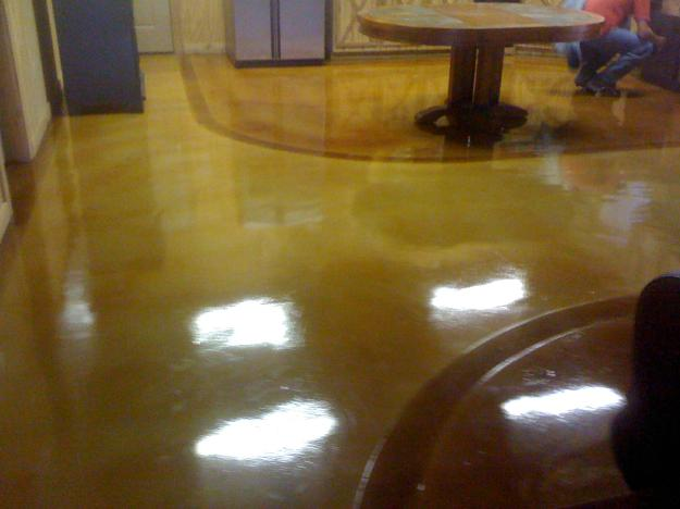 Make Ugly Beautifull Concrete Stain Epoxy Floors